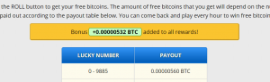 532 Bitcoin bonus